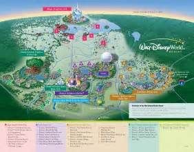 walt disney world property map kennythepirate