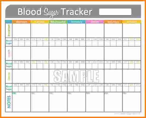 Daily Blood Sugar Log Book blood sugar log template gallery template design ideas