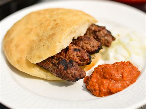 Backyard Burger Menu Grilling Cevapi Southeastern European Meat And Onion
