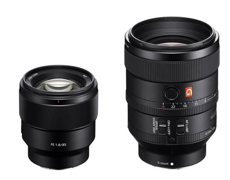 Sony Fe 100mm F 2 8 Gm Frame Lensa Kamera sony fe 100mm f2 8 stf gm and fe 85mm f1 8 lens in stock