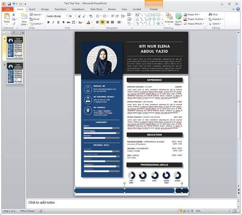 the cunkcrink cara bikin design cv yang menarik lelaki ini ajar cara mudah untuk design resume moden