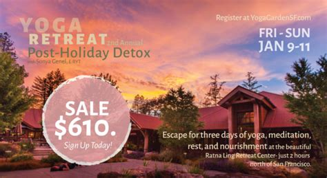 Detox Retreat San Francisco by Sale 610 2nd Annual Post Detox Retreat