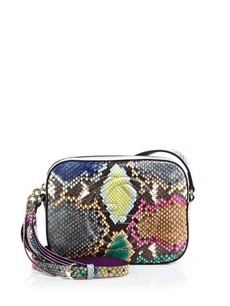 G Ci Bag 1660 gucci soho python disco bag lyst