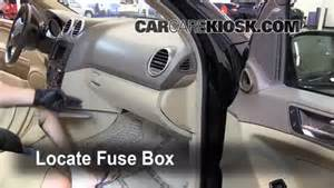 interior fuse box location 2006 2011 mercedes benz ml350
