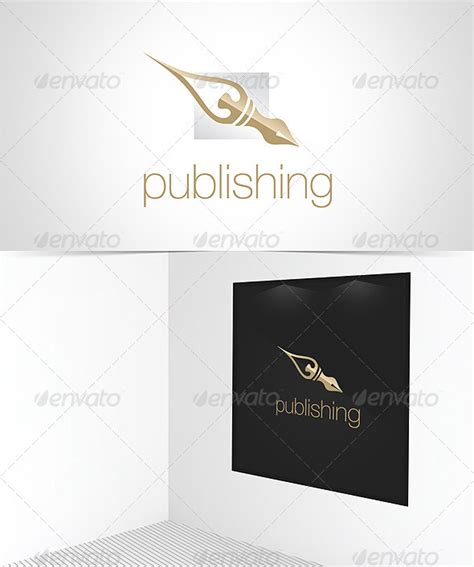publisher logo templates publishing house logo template graphicriver