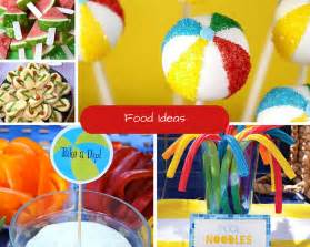 Spell Backyard Kids Pool Party Ideas Summer Party Ideas At Birthday In