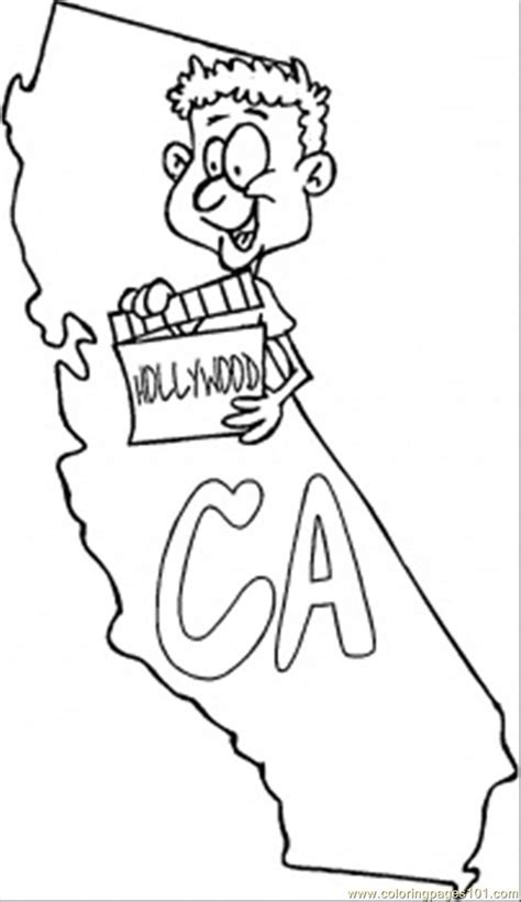california map color california map outline coloring pages coloring pages