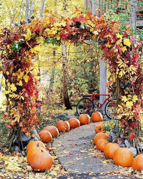 fall leaves decorations a fresh list of 15 yard decorations ideas sheplanet