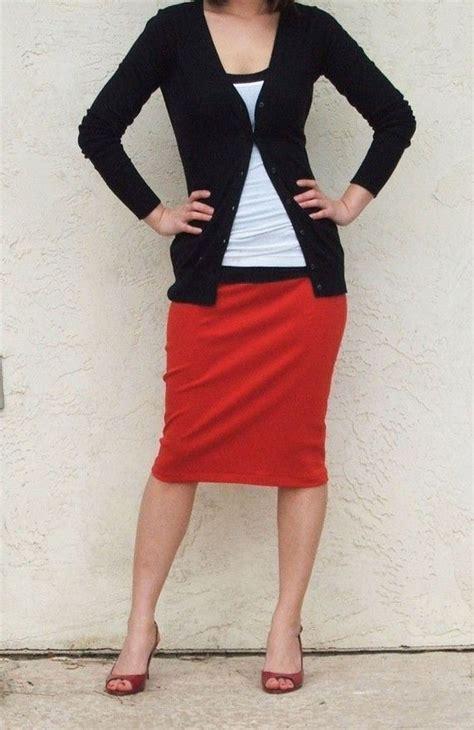 Best Seller Skirt Grey Tmc everyday pencil skirt pull on skirt knee length