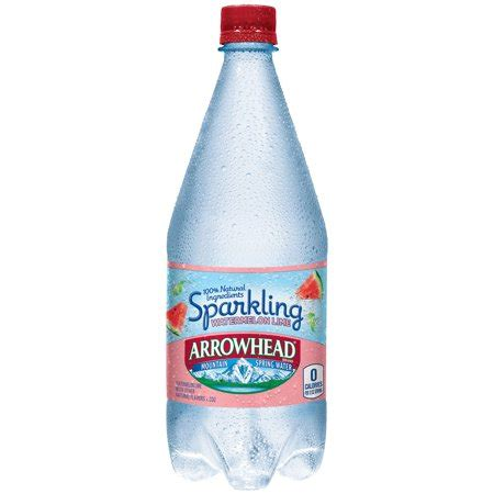 raspberry lime sparkling water mountain 174 brand sparkling water arrowhead brand sparkling mountain water watermelon lime 33 8 ounce plastic bottle