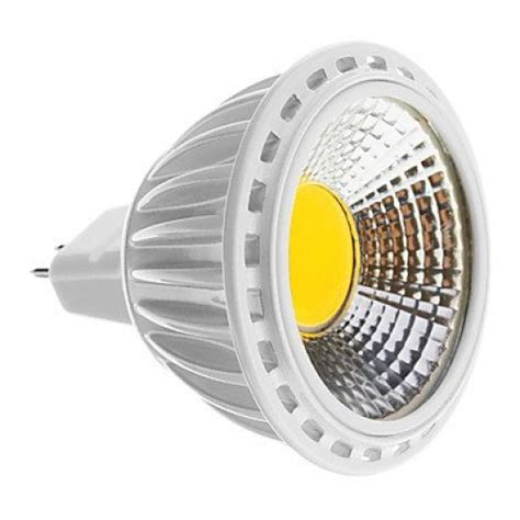 led spot 12v mr16 5w cob 450 480lm 6000 7000k cool white light led spot