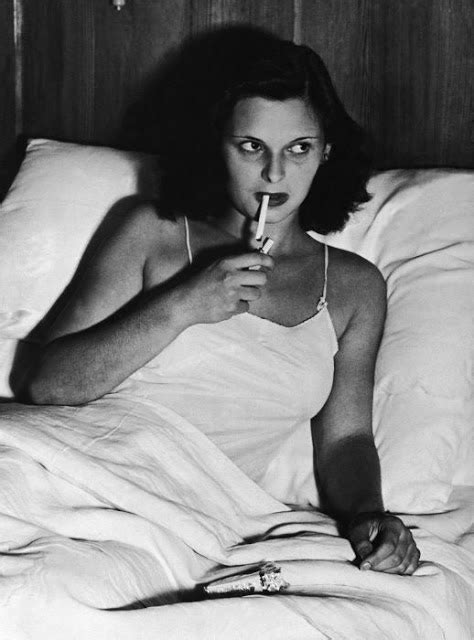 smoking in bed film noir photos smoking in bed lucia bos 233