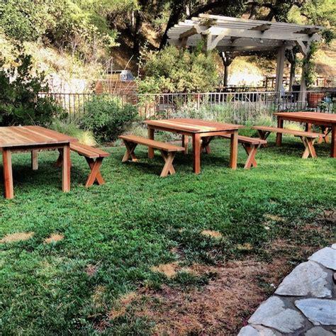 picnic bench rental outdoor