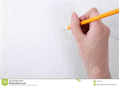 How To Make A Paper Pencil - drawing on graph paper with a pencil royalty free stock
