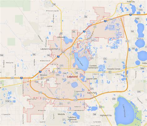 lakeland florida map lakeland florida map