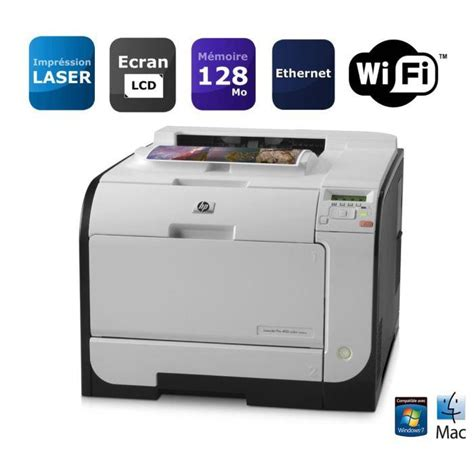 hp laserjet pro 400 color m451nw imprimante laserjet pro 400 color m451nw imprimante wifi