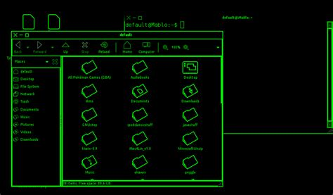 notepad themes black green download greenblack linux 0 1