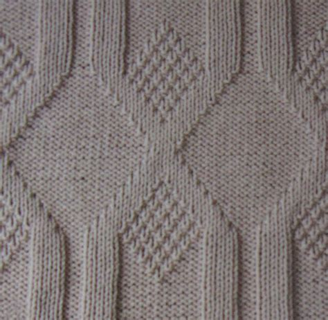 purl stitch knit vertical diamonds knit and purl stitch knitting kingdom