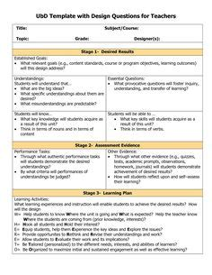 ubd on pinterest differentiated instruction essential
