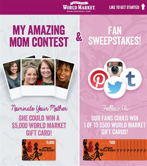 Does Anyone Actually Win Sweepstakes - mother s day fashion date at world market uncommon designs