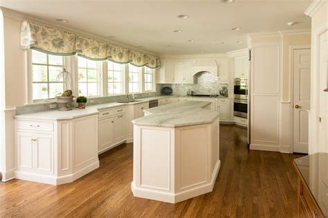 Soft White Kitchen Cabinets Soft White Custom Cabinets In Ct Transitional Kitchen