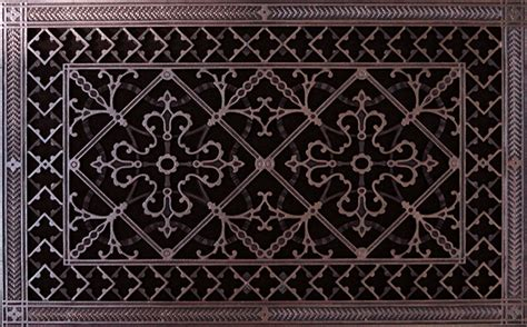 arts and crafts style decorative vent cover
