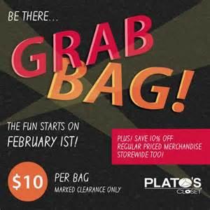 When Is Plato Closet Grab Bag Sale by Grab Bag Event Plato S Closet Ebcouponcraze