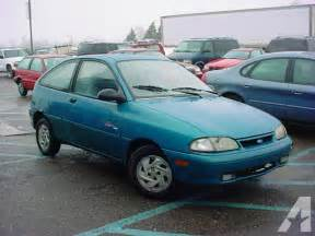 95 Ford Aspire 1995 Ford Aspire Information And Photos Momentcar