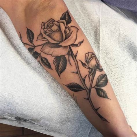 image gallery rose tat