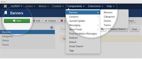 tutorial create website joomla how to create joomla banners joomla templates and