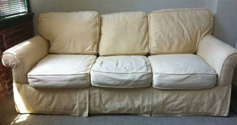 pottery barn slipcovers sofa an alternative to pottery barn sofas comfort works