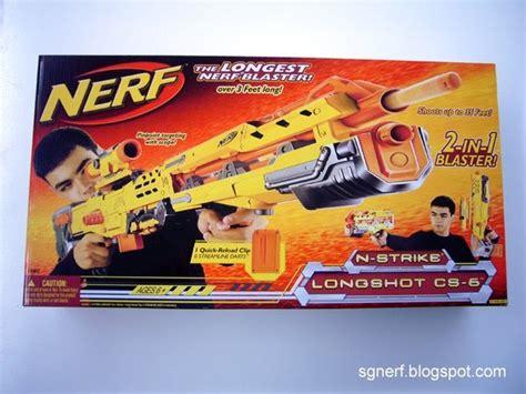 Nerf Longshot Cs 6 Yellow sg nerf nerf longshot cs 6 yellow review