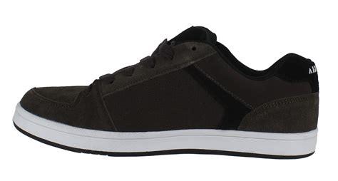 Airwalk Sneaker Size 42 mens boys airwalk brock skate lace up casual suede trainers sizes 3 to 15