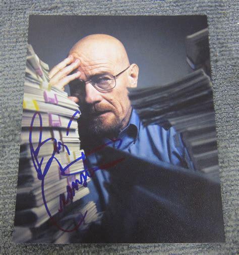 bryan cranston autograph bryan cranston breaking bad signed 8x10