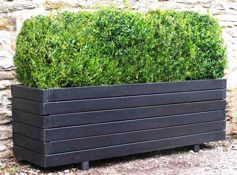 Garden Large Planters by Best 25 Large Planter Boxes Ideas On Large