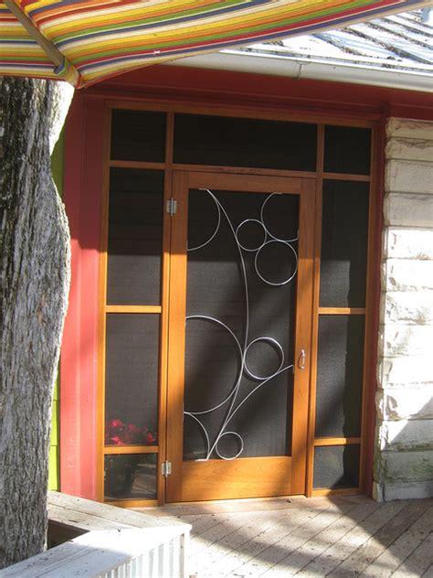 Screen Porch Doors by Susan Wallace Modern Screen Doors By Susan