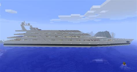 how to make a big yacht in minecraft huge yacht minecraft project