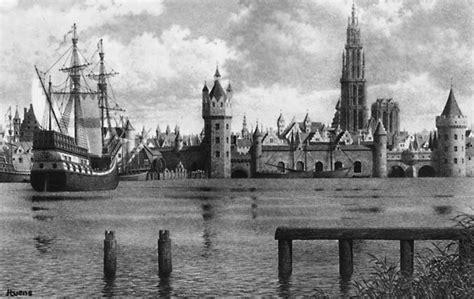 scheepvaartmuseum historie beknopte geschiedenis maritiem goederenverkeer in antwerpen