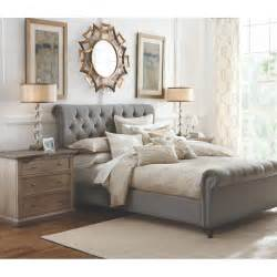 home decorators collection furniture home decorators collection gordon grey queen sleigh bed 2309800270 the home depot