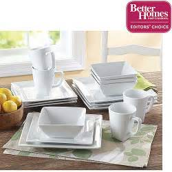 better homes dishes better homes and gardens square 16 porcelain