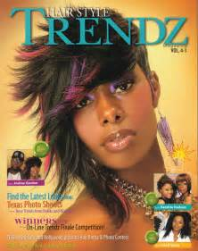 black hairstyles magazine models picture