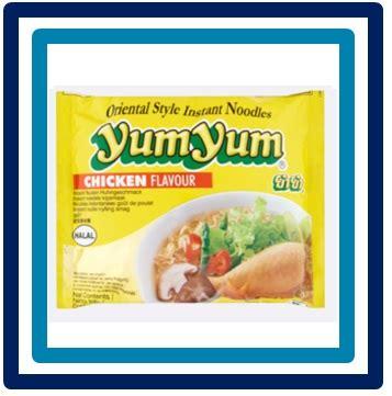 Inul Snack 60 Gram yumyum chicken flavour 60 gram foodstoreandaluz nl