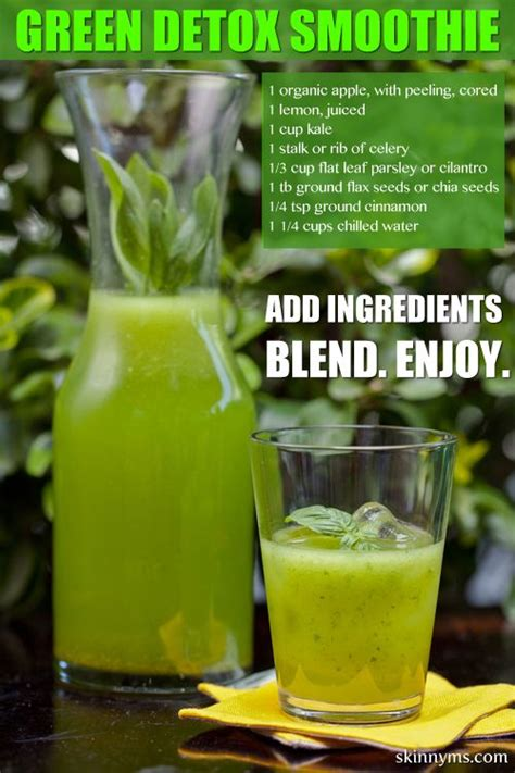 Parsley Green Smoothie Detox by Cleanse Detox Smoothie Recipe Celery Cilantro And