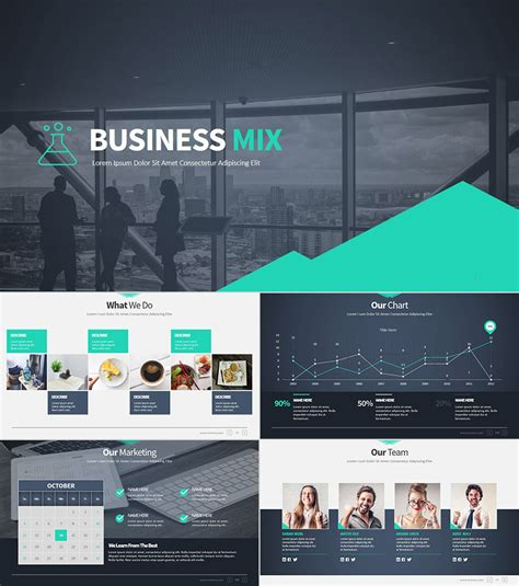 18 Professional Powerpoint Templates For Better Business Presentations Business Presentation Powerpoint Template