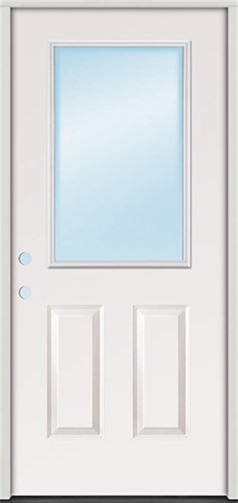 Half Lite Door by Discount 2 8 Quot Half Lite Steel Prehung Door Unit