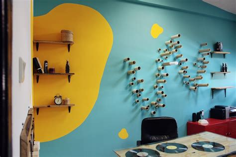 colourful cheer a bright and inviting office space designed for a cheerful atmosphere