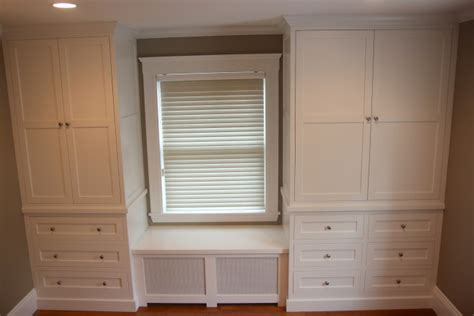Window Seat With Radiator - grusby woodworks closet built in closets and window seat