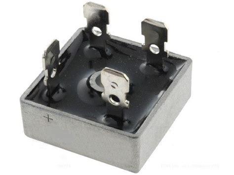 Dioda 3510 35a můstek diodov 253 usměrňovac 237 kbpc3510 35a 1000v faston konektory