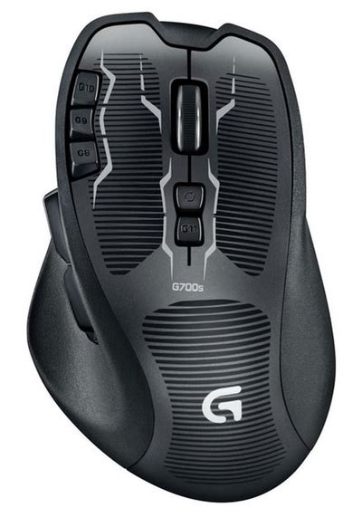 logitech g700s rechargeable gaming mouse review