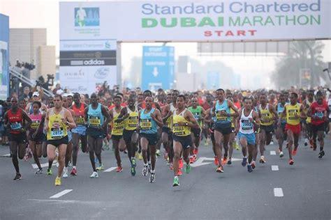 Race Standard Chartered Half Marathon Indonesia 2014 mekonnen s stunning marathon debut win in dubai news iaaf org